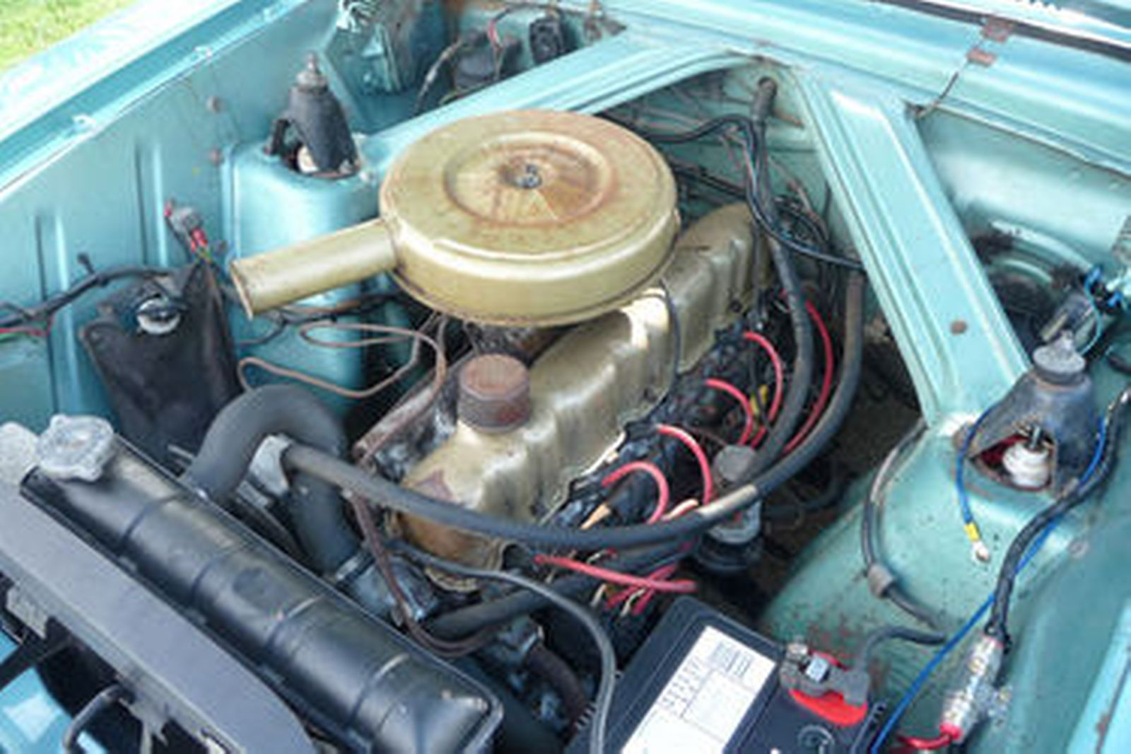 Ford Falcon Xm Futura Coupe on Ford 170 6 Cylinder Engine