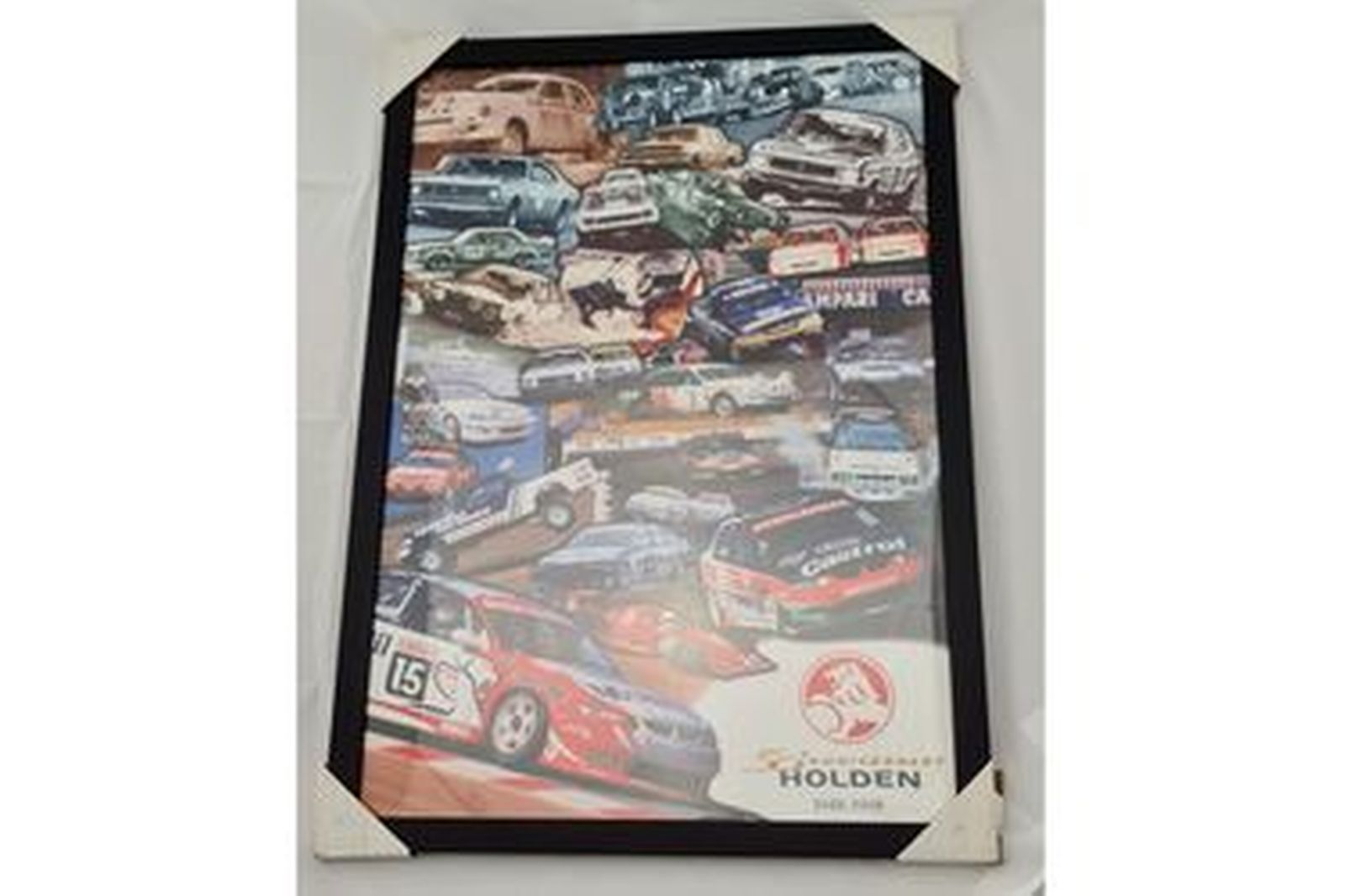 '50th Aniversary Holden - 1948-1998' Framed Poster (572W x 817H)