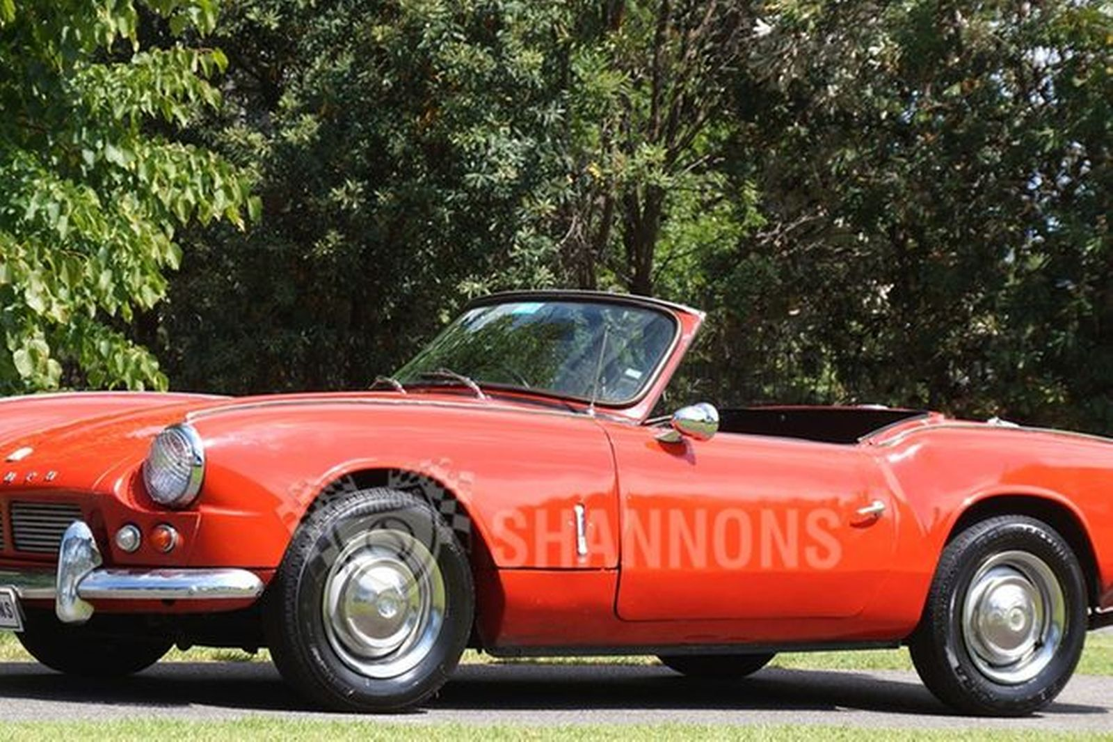 Sold  Triumph Spitfire Mk1 Roadster Auctions - Lot 2