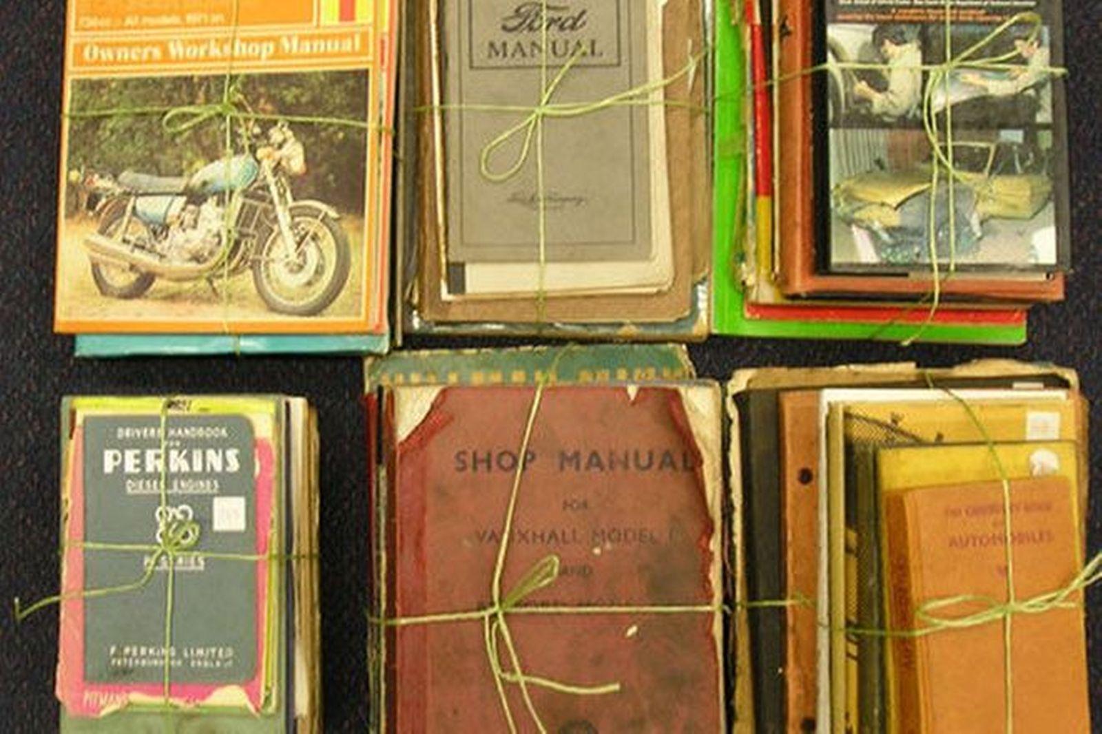 Motoring Manuals & Literature - 57 x British & American