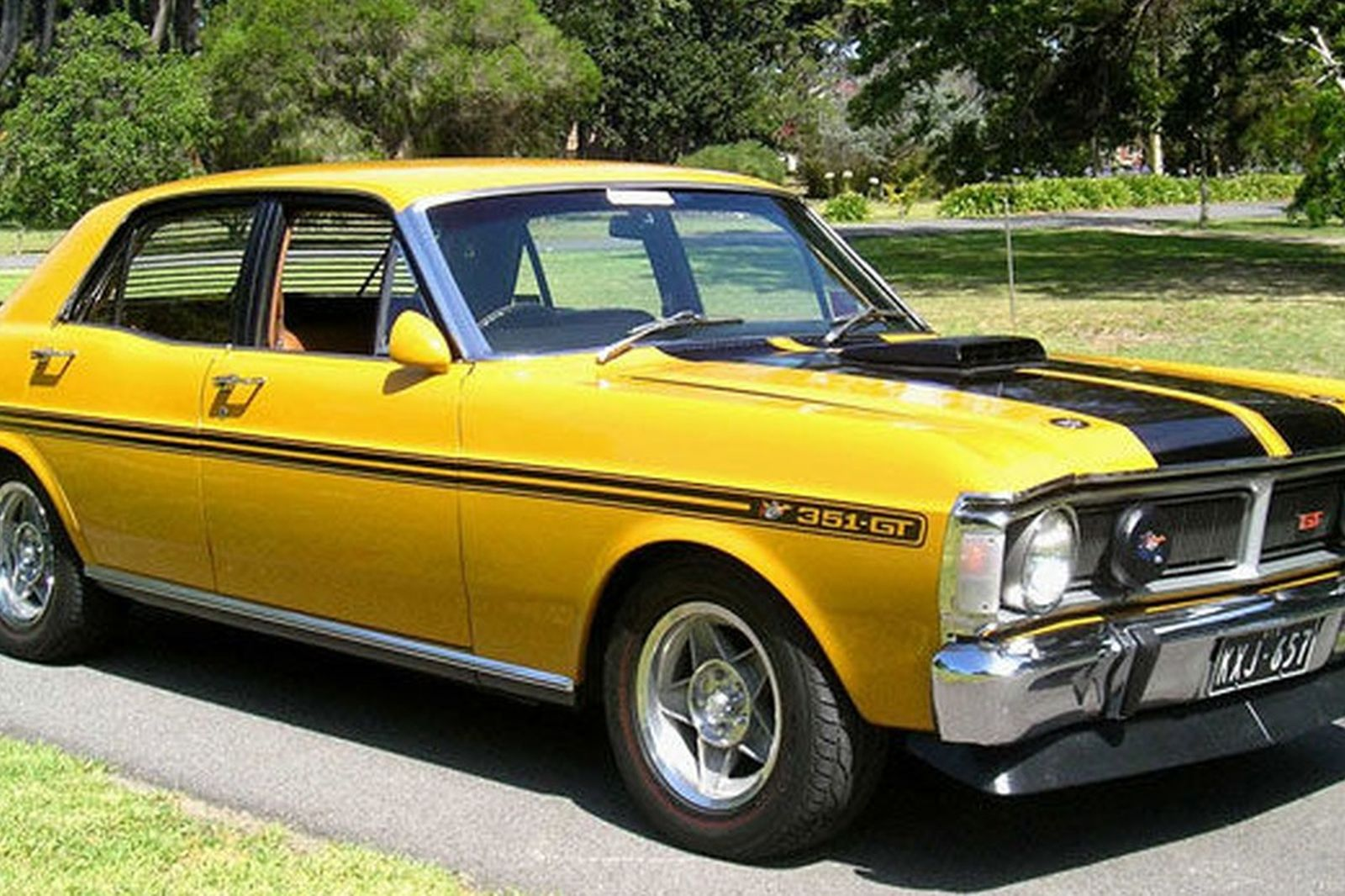 Ford Falcon Xy Gt Ho Phase Iii Sedan