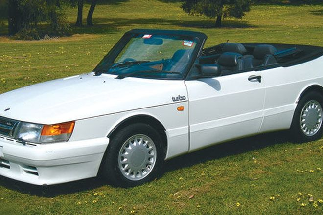 Saab 900i Turbo Convertible