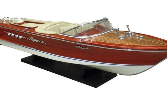Model Boat - Riva Aquarama Replica (80cm long)