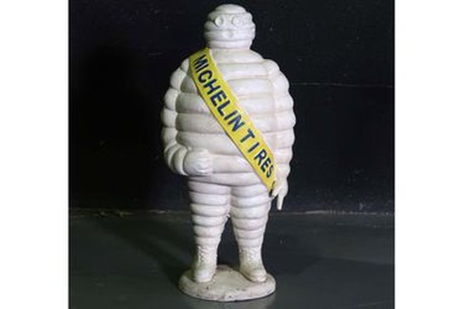 Figure - Michelin Man Cast Iron Floor Standing (Reproduction 57cm tall)