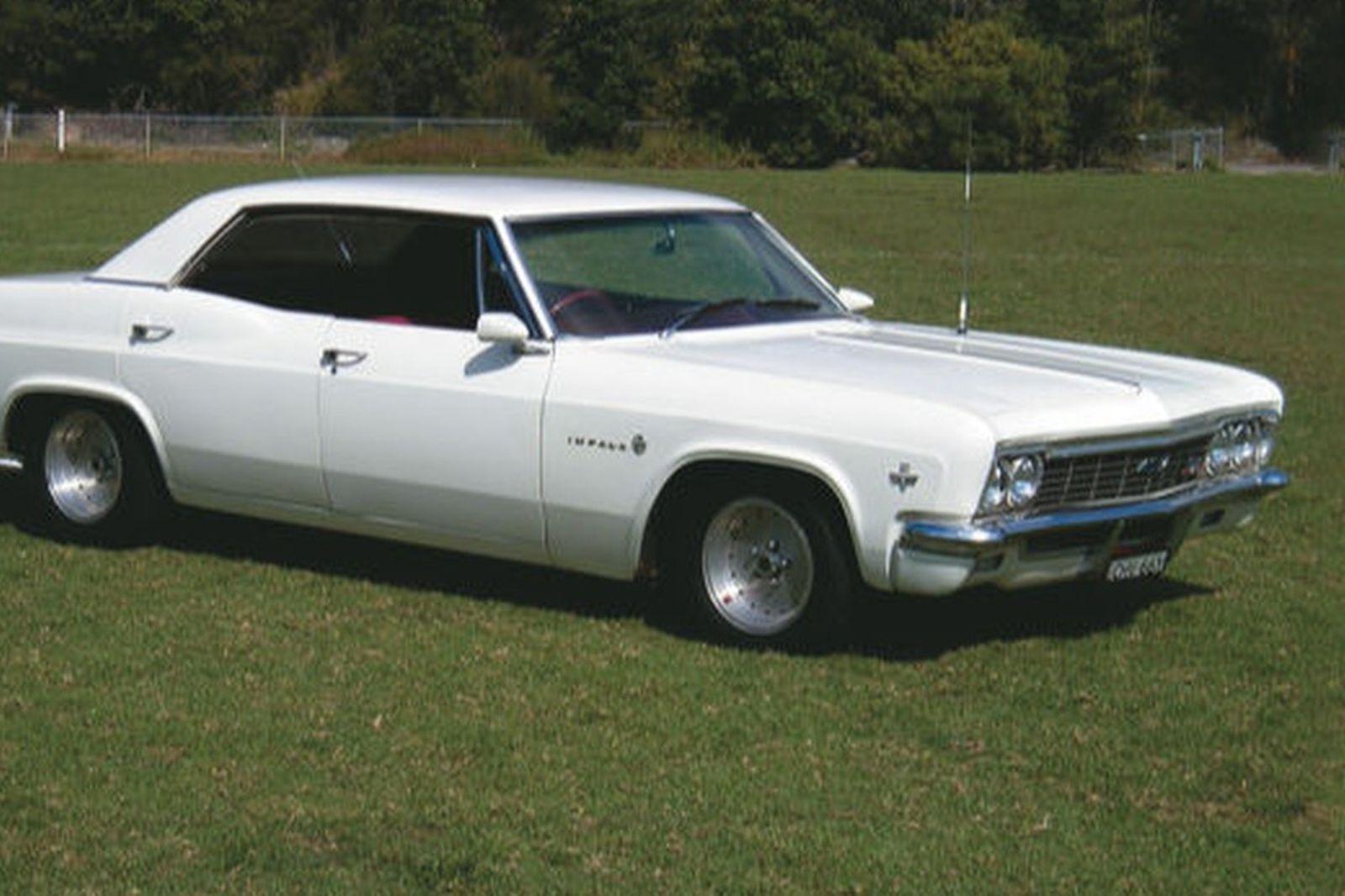 Sold Chevrolet Impala Pillarless Sedan Auctions Lot 26 Shannons 1966 Bel Air Rear View