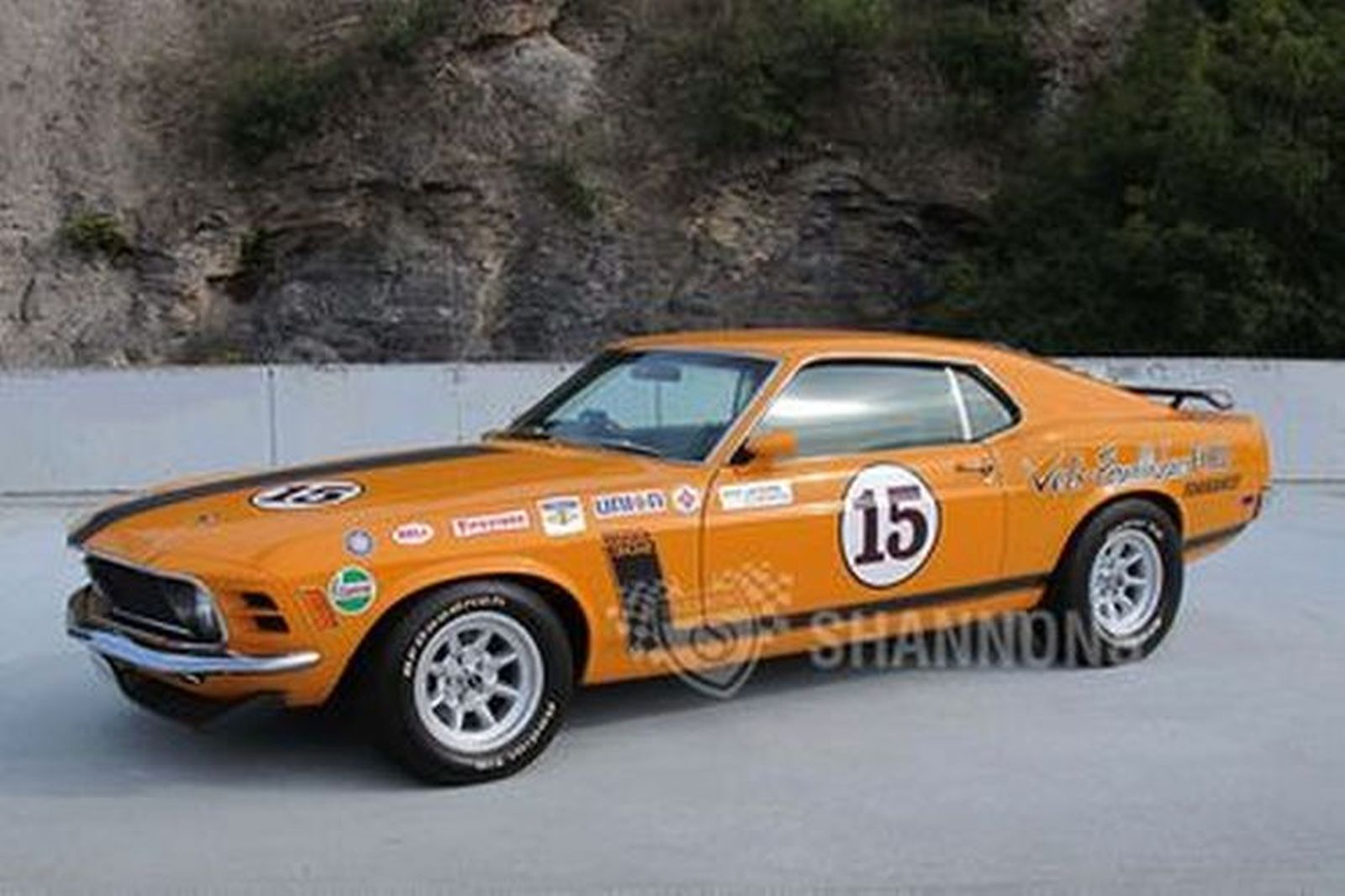 Ford mustang parnelli jones tribute fastback rhd