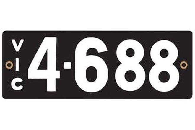 Victorian Heritage Plate '4-688'