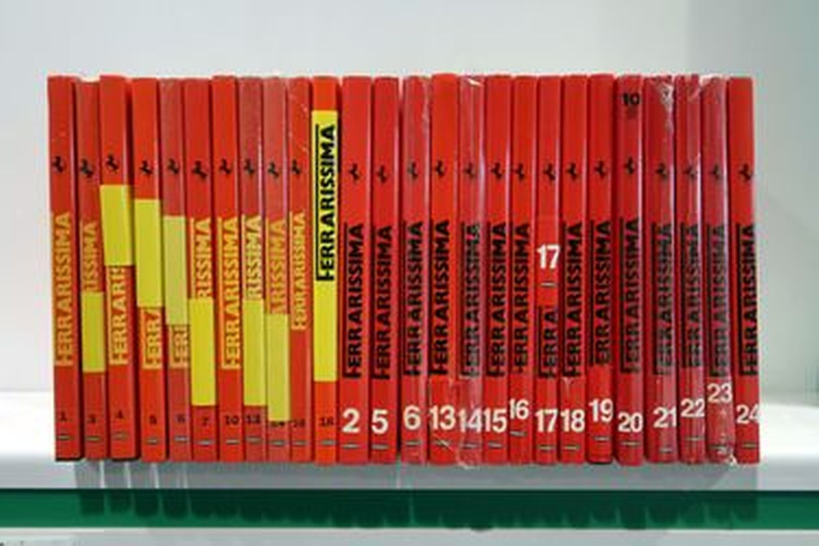 Ferrari 360 Factory Battery Charger In Leather Case & Ferrarissima Book Collection (26 Books)