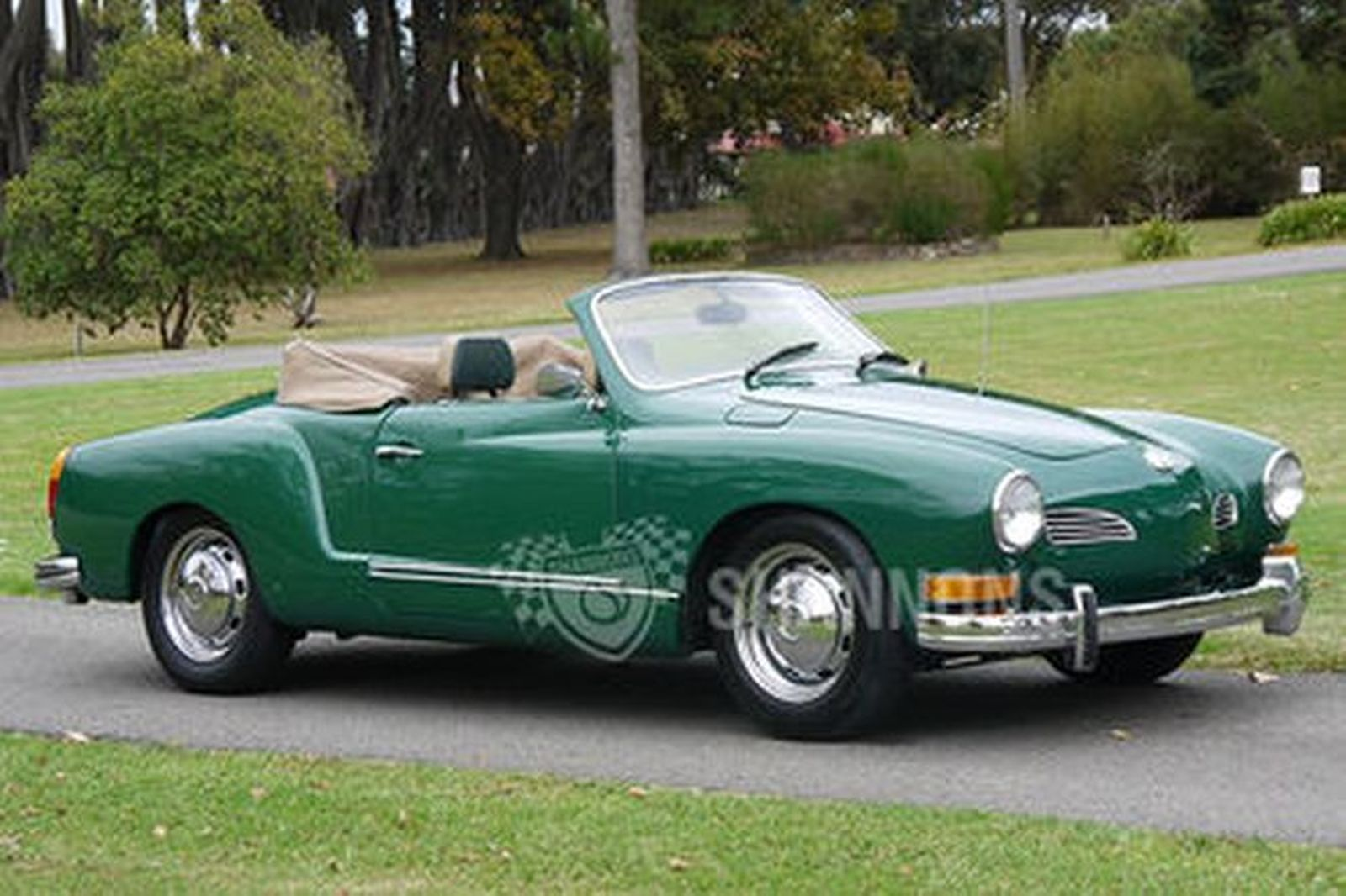 sold volkswagen karmann ghia convertible lhd auctions lot  shannons