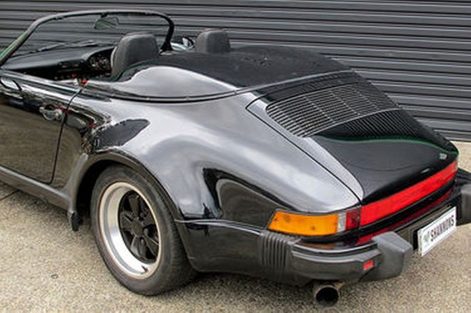 sold porsche 911 39 wide body 39 speedster auctions lot 21 shannons. Black Bedroom Furniture Sets. Home Design Ideas