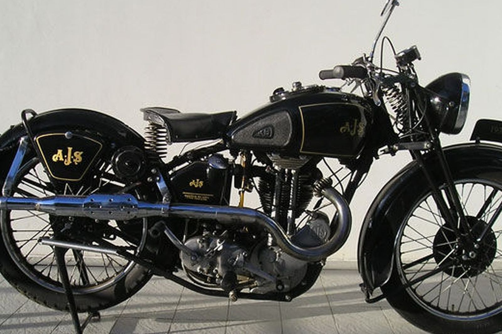 AJS 500cc Motorcycle