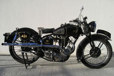 AJS 500cc Motorcycle