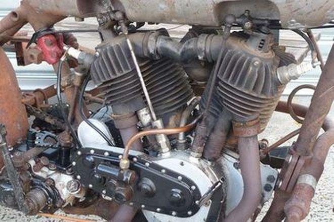 Harley-Davidson J Model 1000cc with Sidecar Frame