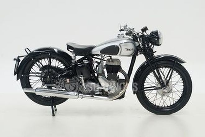 BSA M20 Solo Motorcycle