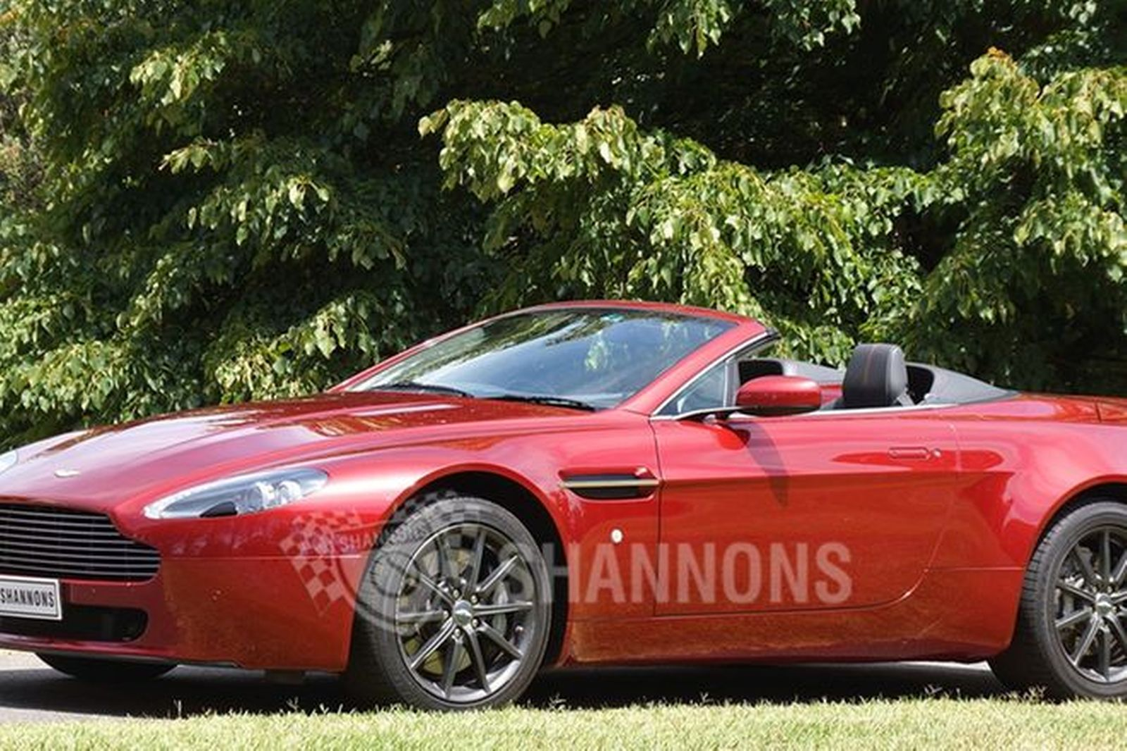 sold: aston martin v8 vantage convertible auctions - lot 32 - shannons