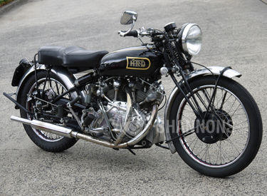Vincent HRD Rapide Series B Solo Motorcycle
