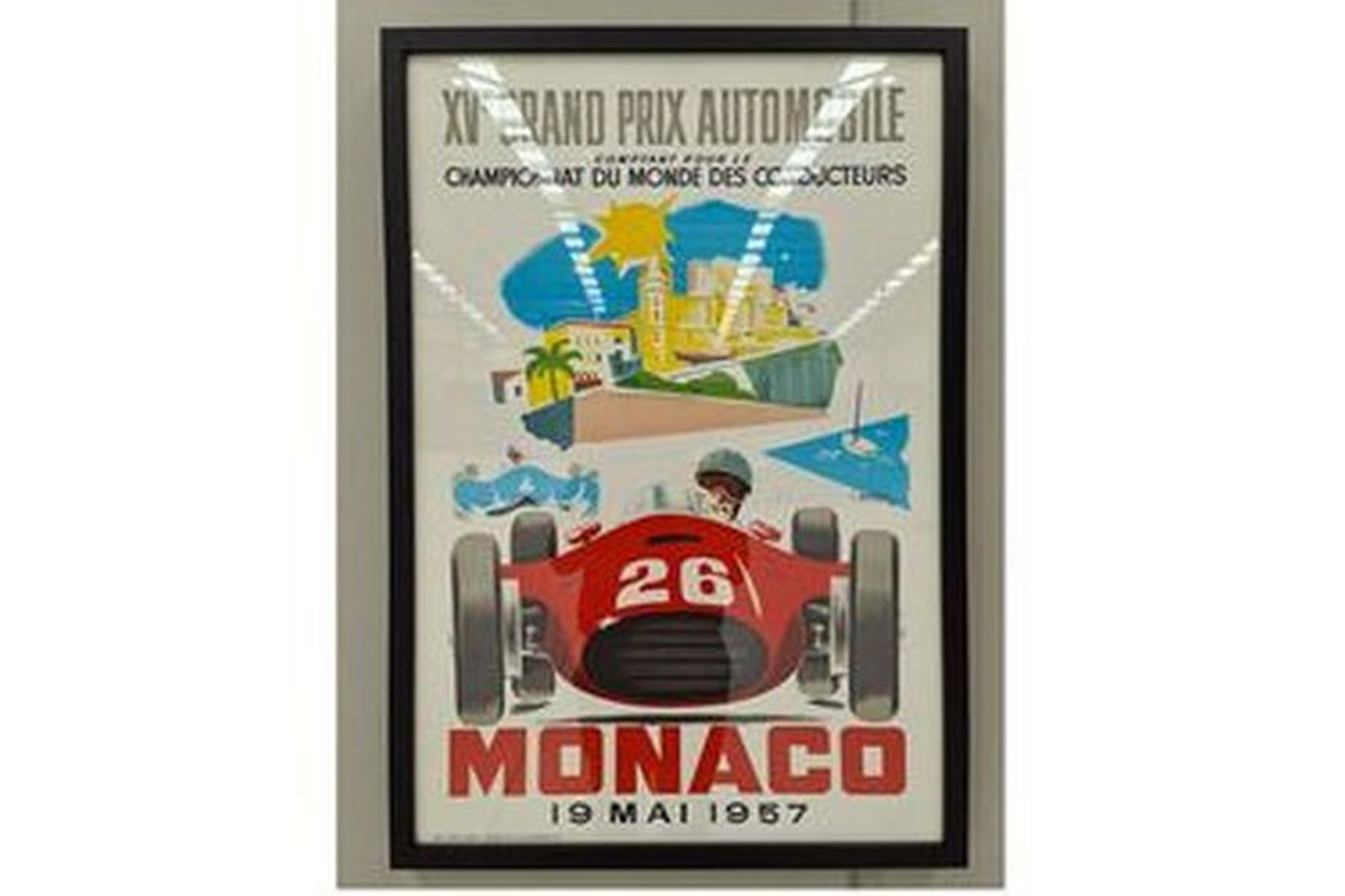 XV Grand Prix Automobile Framed Print