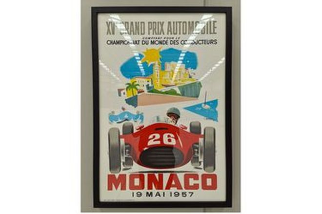 XV Grand Prix Automobile Framed Print (720W x 1040H)