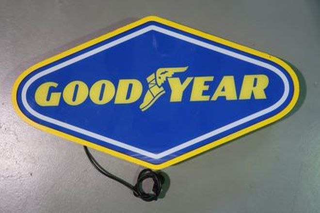 Light Box - Goodyear (85 x 45cm)