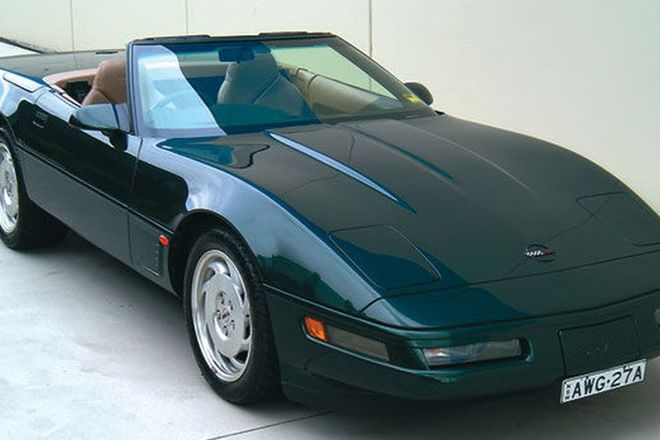 Chevrolet Corvette LT4 Convertible (RHD)