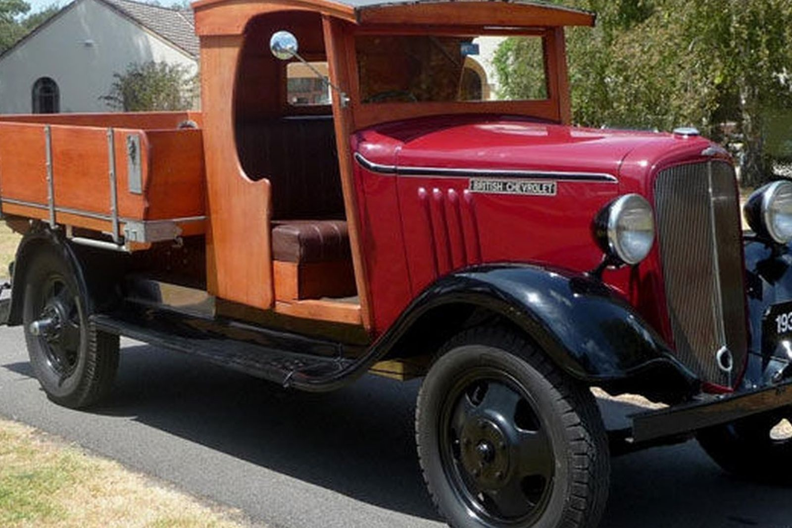 British Chevrolet Tray Truck