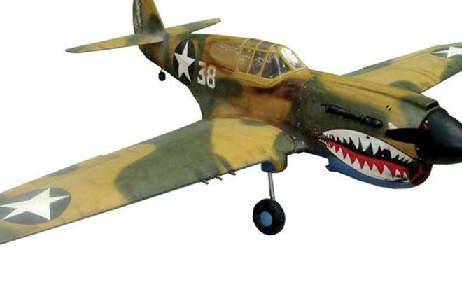 Model Plane - Curtis P40 'Kitty Hawk' (2.5m Wingspan)