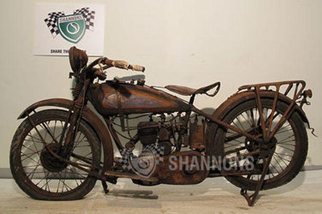 Harley-Davidson 26B 350cc (Pup) Solo Motorcycle