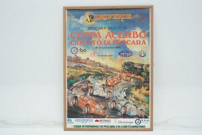 Framed Print - Pescara Motori 1986