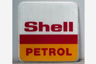 Acrylic Sign - Shell Petrol Acrylic Sign (one sided 180cm x 180cm)