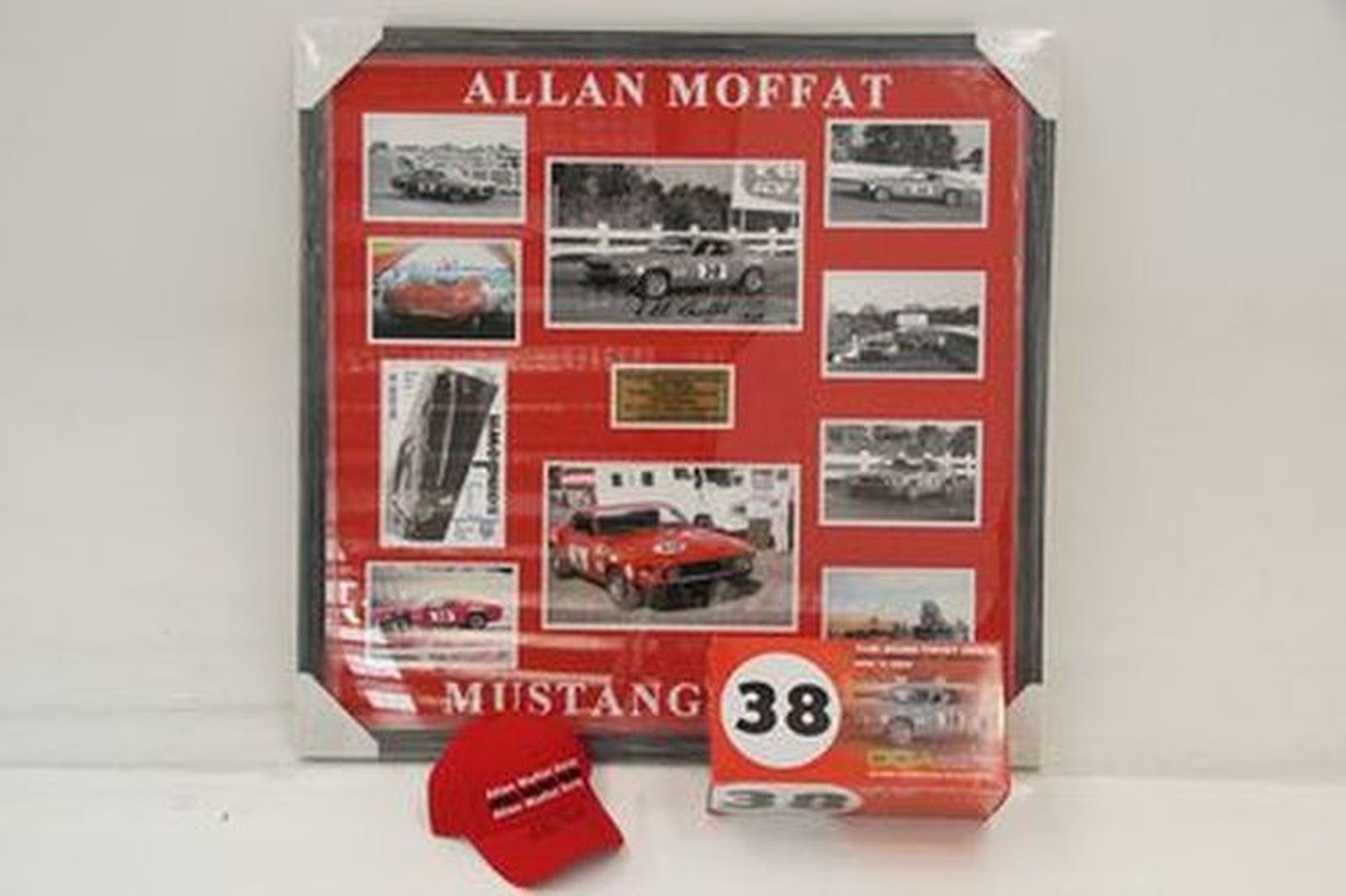 Allan Moffat signed items