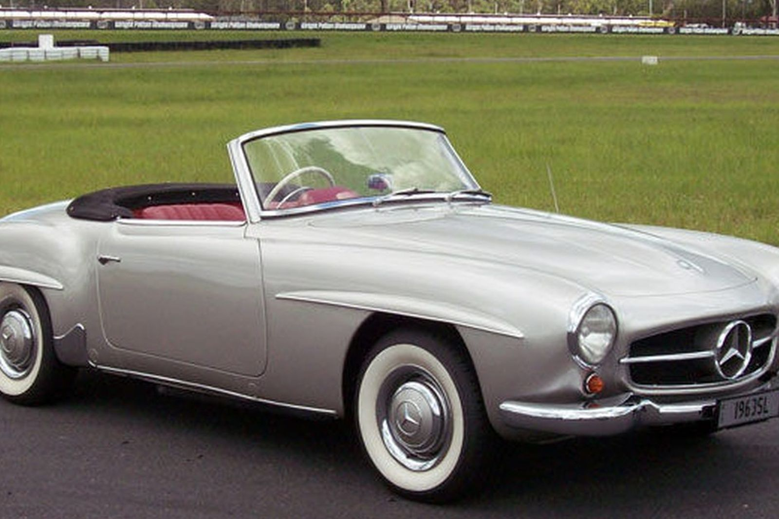1962 mercedes 190sl