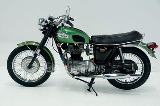 Triumph TR6R 650cc Motorcycle