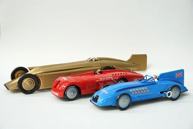 Model Cars - 3 x Land Speed Record Cars - From the 'Ian Cummins Collection'