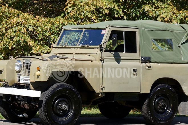 Land Rover 88 inch SWB Utility