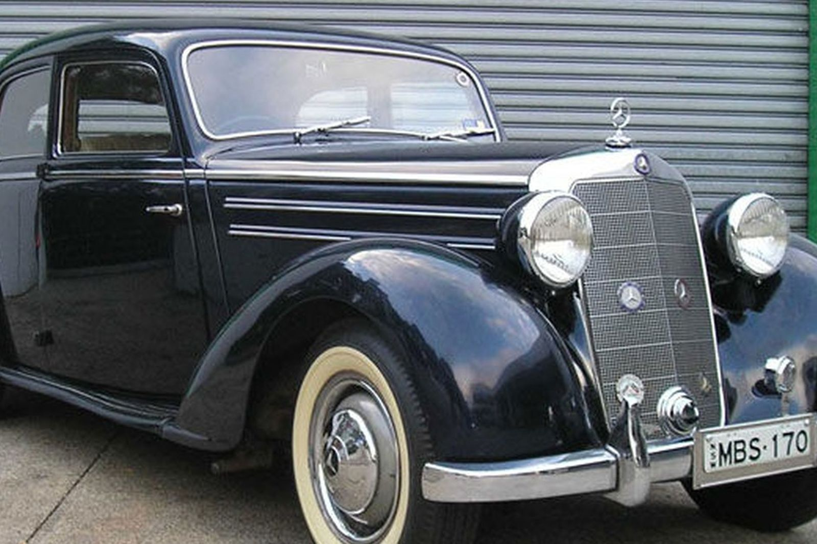 Sold mercedes benz 170s sedan auctions lot 12 shannons for Mercedes benz auction