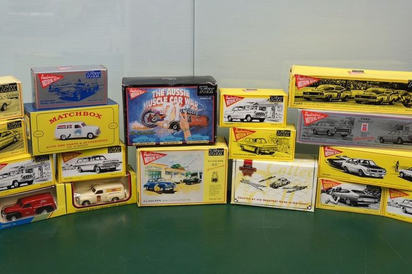 Model Cars x 52  - Australian Motoring History Collection & Bathurst Cars