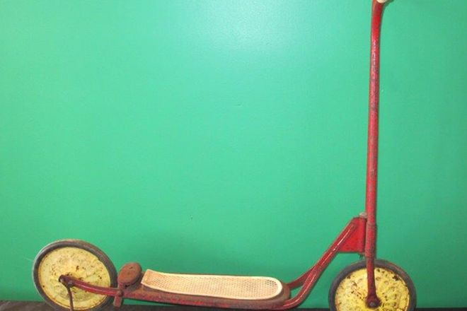 Vintage Childs Scooter (unrestored)