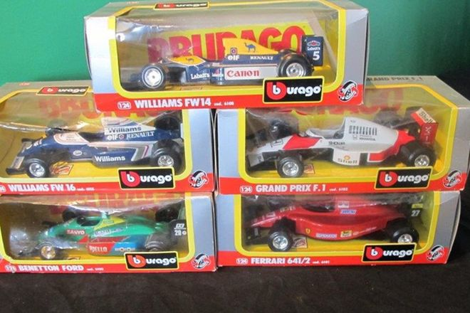 Model Cars x 15 - Assorted (Scale: Various)