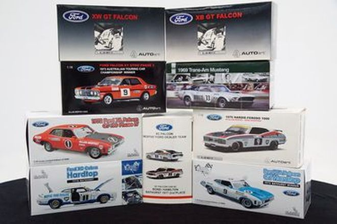 Model Cars -  10 x 1:18 Scale Model Cars 'Moffat Collection'