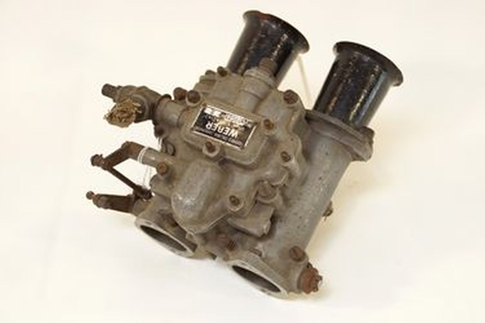 Weber Carburettor - Sandcast Weber 40DCO3 No2 sidedraught  - from Alta 4 cylinder engine