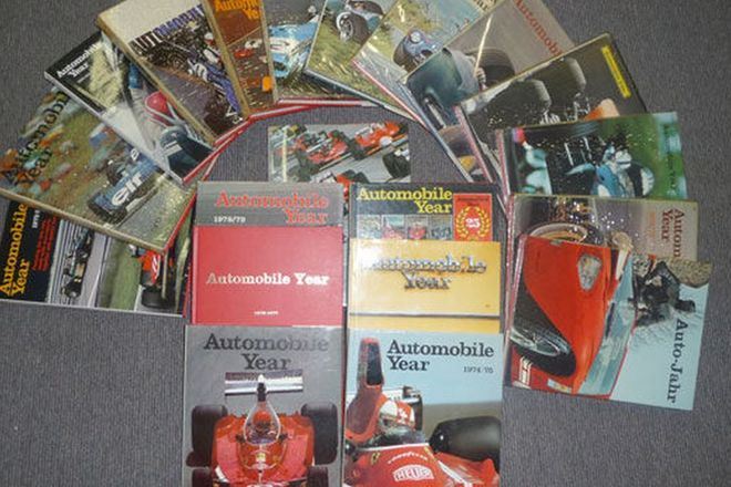 Motoring Books - 20 x Annual Automobile Review No.s 11 to 30  (1963 to 1983)