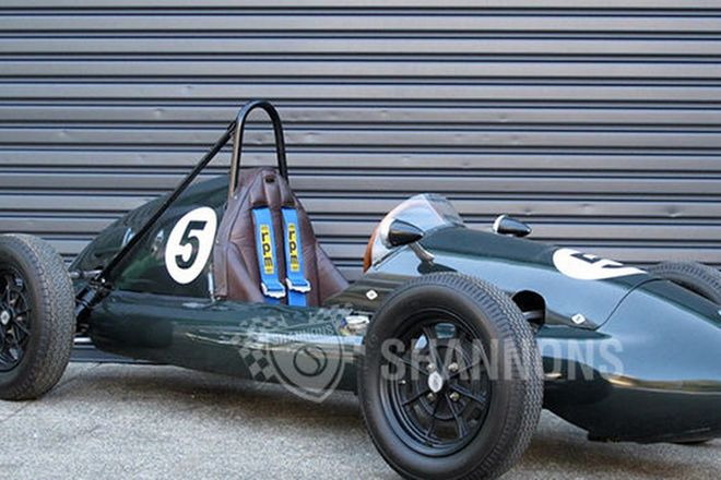 Cooper Climax MkV 1100cc F2 Race Car