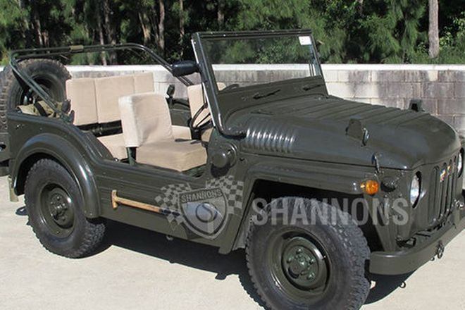 Austin Champ 4x4 Military Vehicle