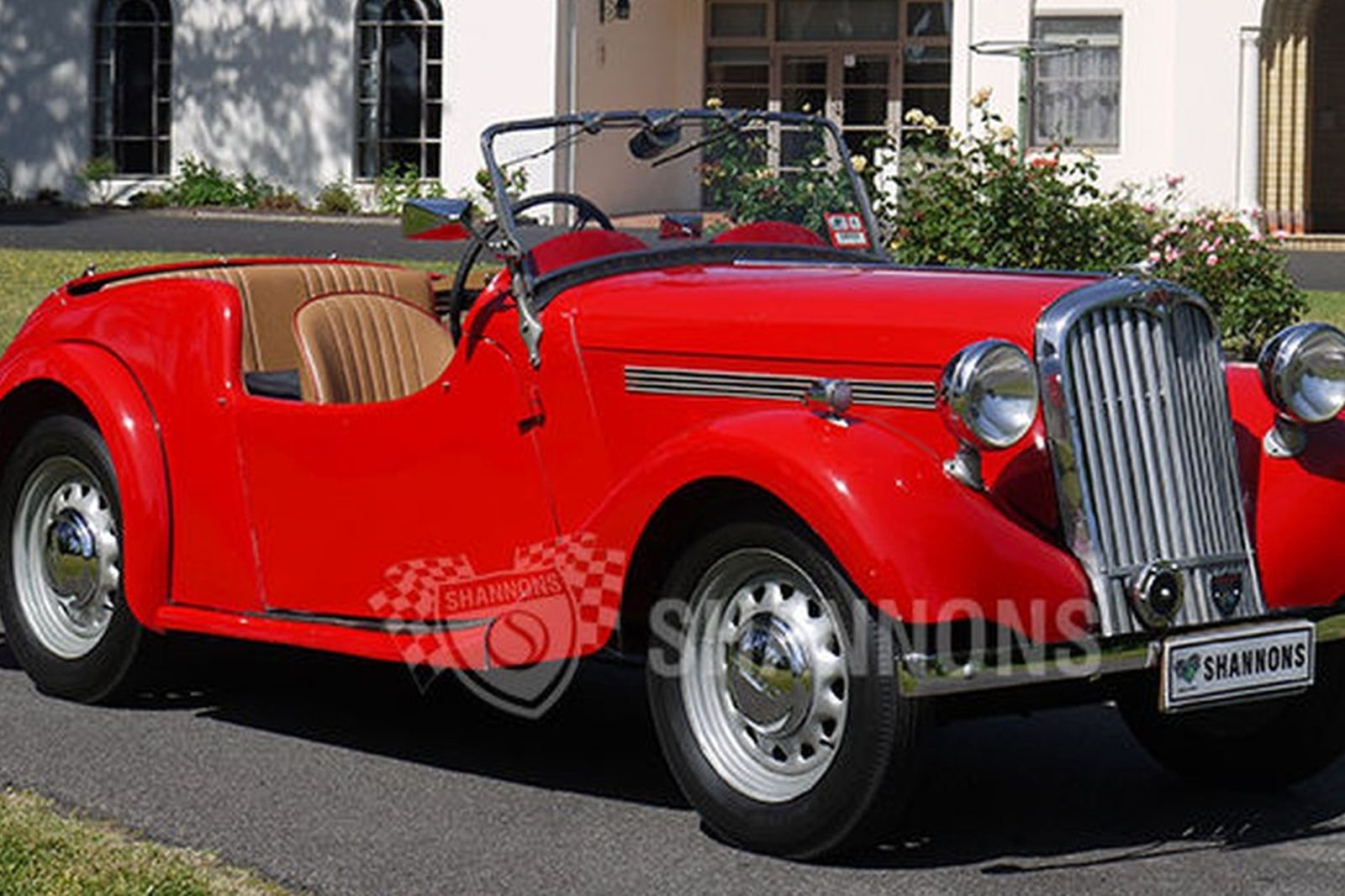 Sold singer nine 4a roadster auctions lot 9 shannons for Motor vehicle open on saturday