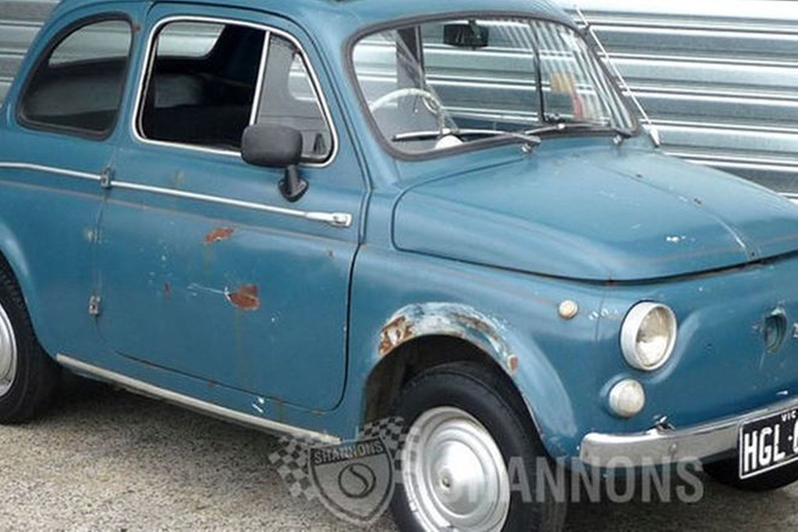 Sold  Fiat Nuova 500 Bambino Coupe Auctions - Lot 2
