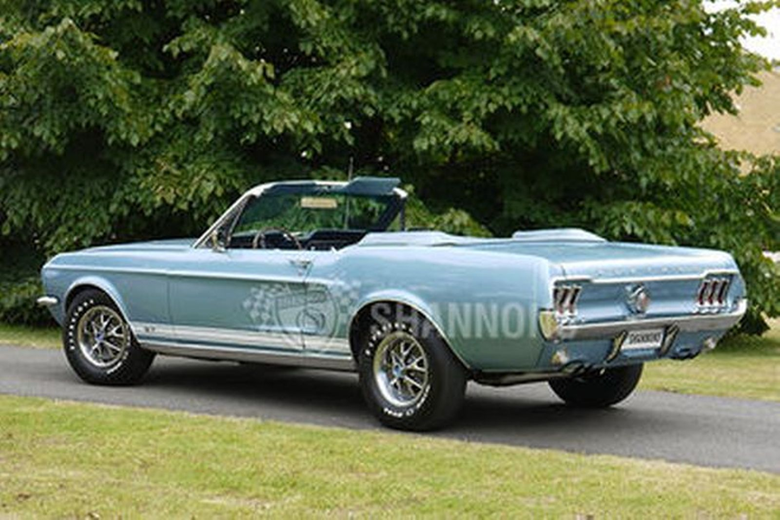 Sold Ford Mustang S Code 390 Gt Convertible Lhd