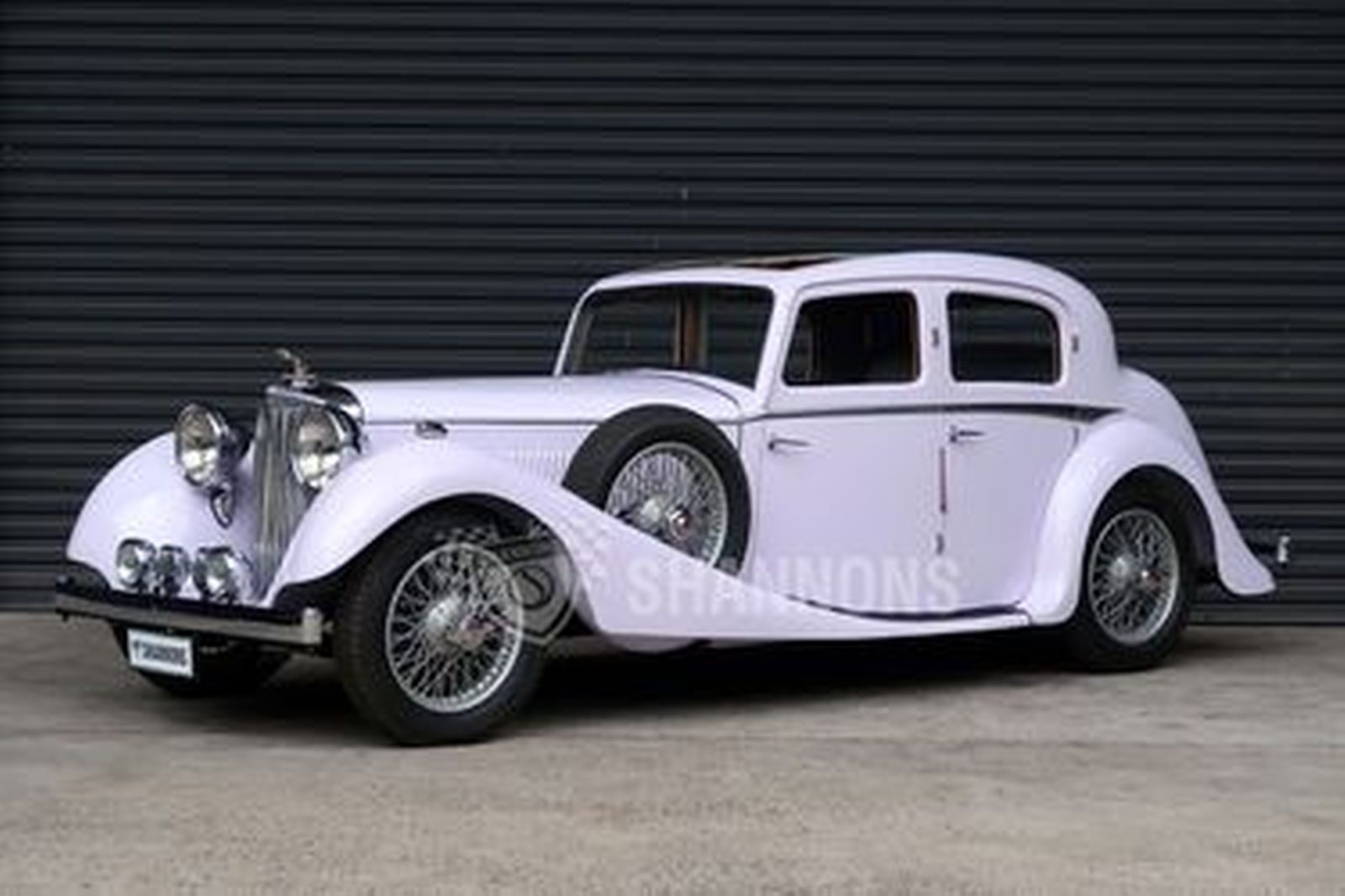 Jaguar SS 2½ Litre Saloon (Project)