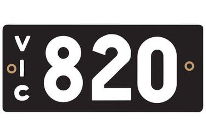 Victorian Heritage Plate '820'