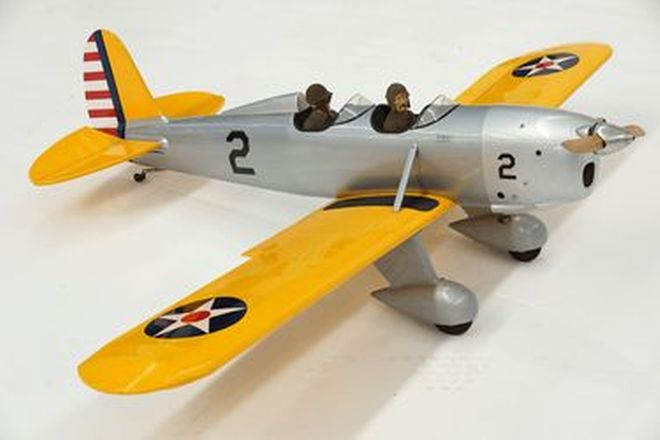 Model Plane - Ryan US Army YPT-16 (with engine and servos) - From the 'Ian Cummins Collection'