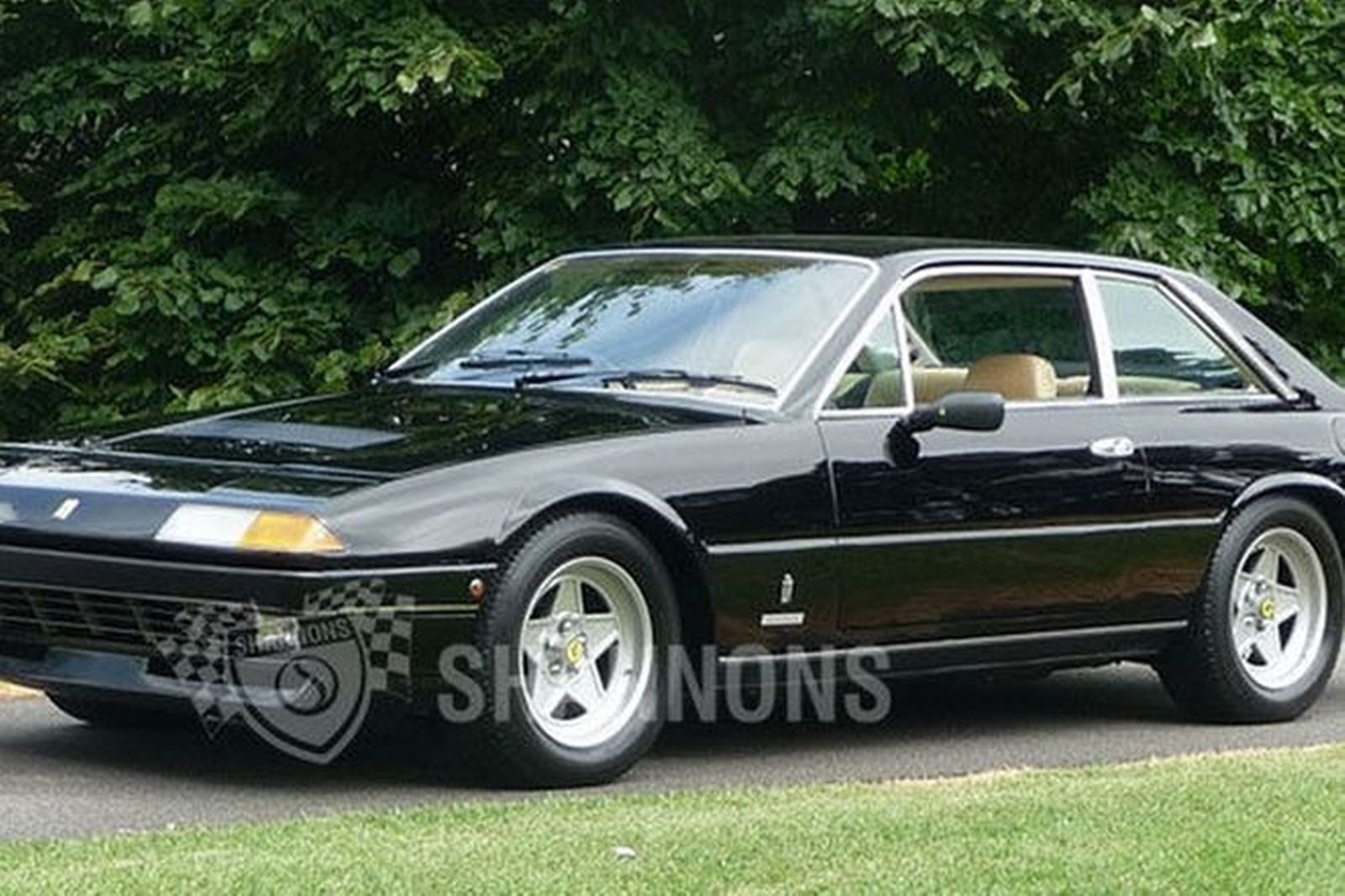 sold ferrari 400i coupe auctions lot 33 shannons. Black Bedroom Furniture Sets. Home Design Ideas